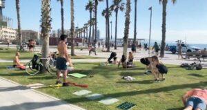 Practice sport totally free in Barcelona
